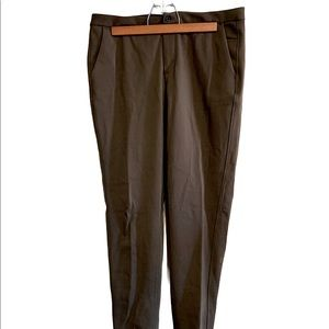 Lululemon trousers in army green